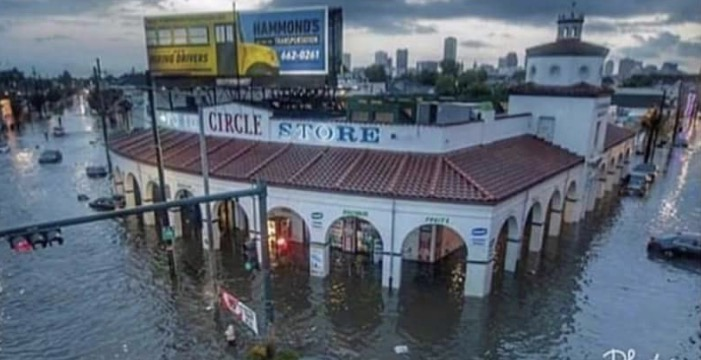Circle Food New Orleans Flooded